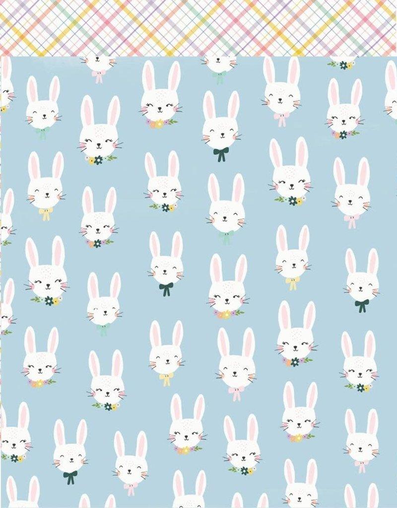 Simple Stories 12 x 12 Decorative Paper Bunny Love