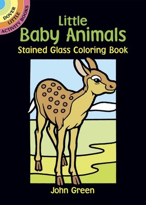 Dover Coloring Book Little Baby Animals