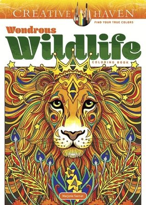 Dover Coloring Book Wondrous Wildlife