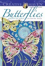 Dover Coloring Book Butterflies Flights of Fancy