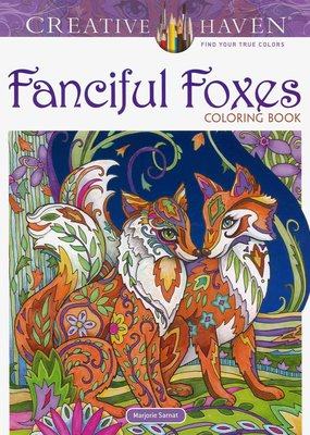 Dover Coloring Book Fanciful Foxes