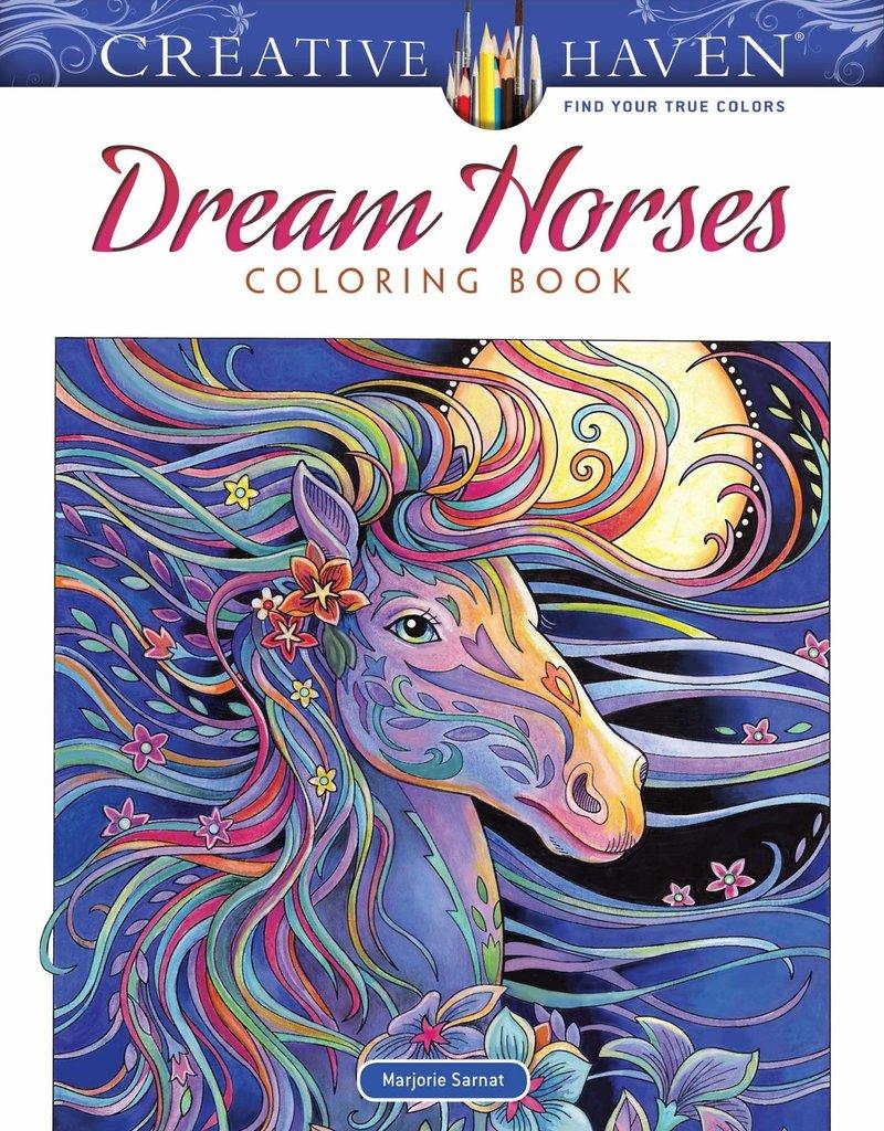 Dover Coloring Book Dream Horses