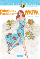 Dover Coloring Book Fabulous Fashions of the 1970's
