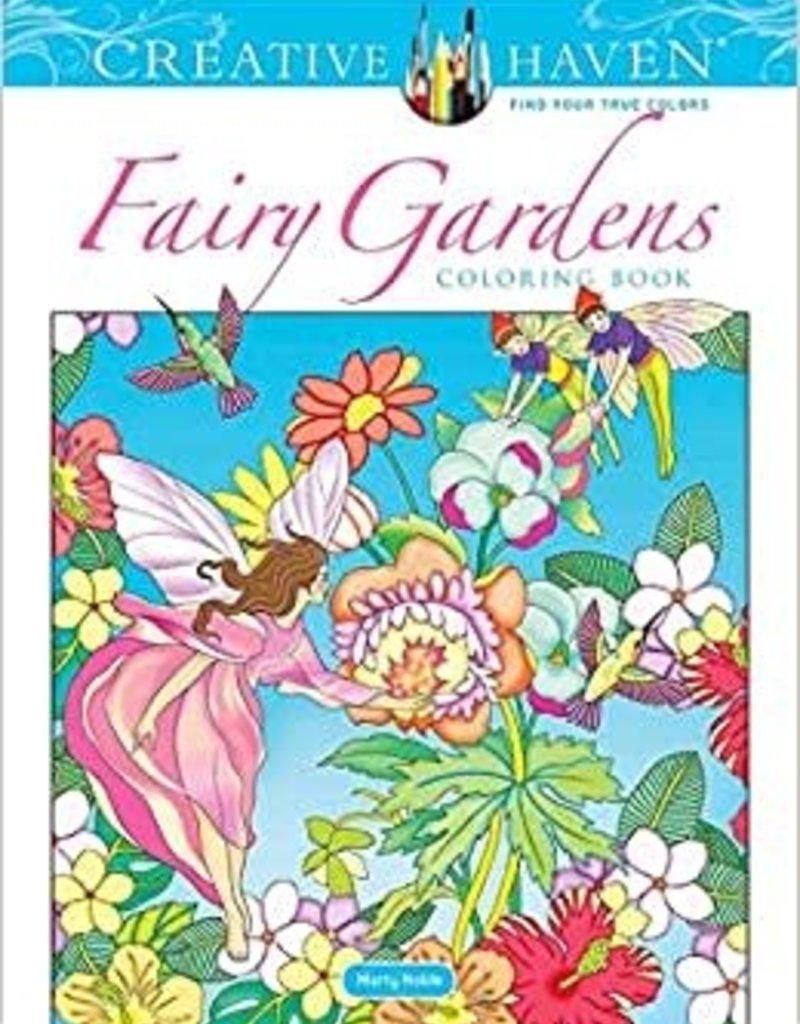 Dover Coloring Book Fairy Gardens