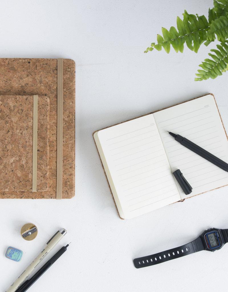 SUCK UK Cork Notebook A6