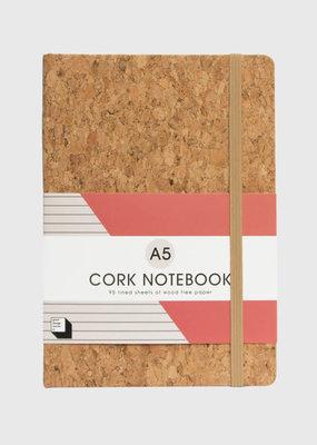 SUCK UK Cork Notebook A5