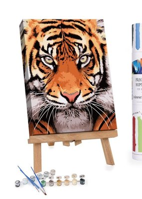 Winnie's Picks Paint by Number Tiger Face