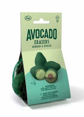 Fred Avocado Erasers