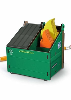 Fred Desk Dumpster Pencil Holder & Notes