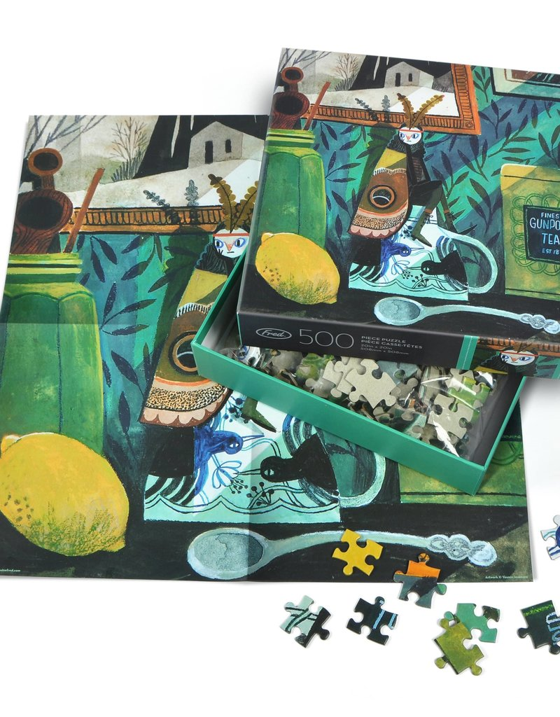 Fred 500 Piece Puzzle Moth Girl
