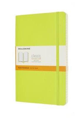 Moleskine Moleskine Classic Softcover Ruled Lemon Green Large