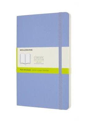 Moleskine Moleskine Classic Soft Cover Plain Hydrangea Large