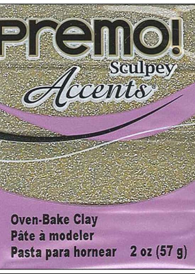 Sculpey Sculpey Premo 2oz. Yellow Gold Glitter