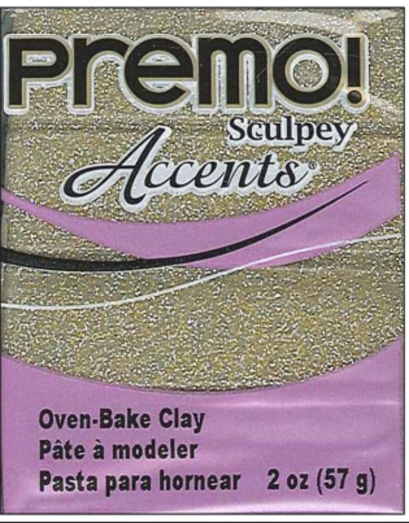 Sculpey Sculpey Premo 2oz. Yellow Gold Glitter