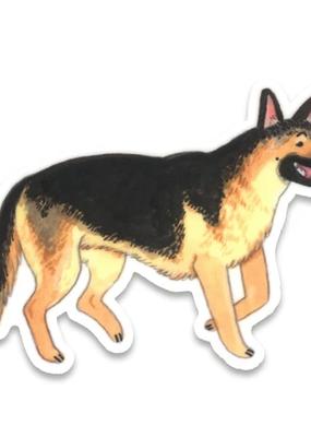 Cactus Club Sticker German Shepherd