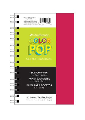 Strathmore Pop Sketch Journals 5.5  x  8.5 Pink
