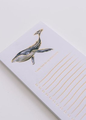 Good Juju Ink Notepad Whale-Being