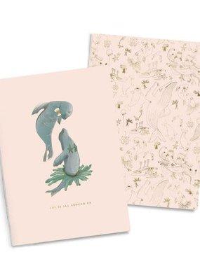 Good Juju Ink Notebook Duo Joyful Seals