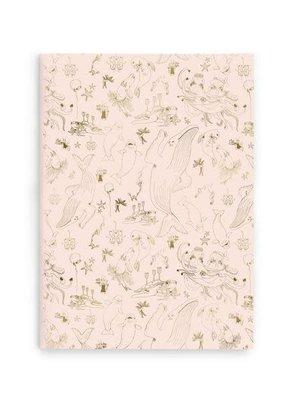 Good Juju Ink Softcover Notebook Underwater Ball Pink