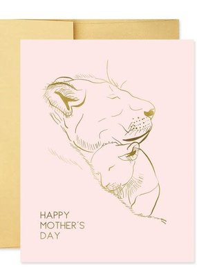 Good Juju Ink Card Lioness Mother's Day