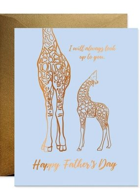Good Juju Ink Card Father's Day Look Up to Dad