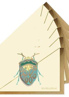Good Juju Ink Boxed Cards Teal Beetle