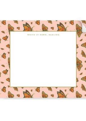 Good Juju Ink Notepad Monarch Butterflies