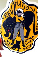 Stasia Burrington Sticker Revolution