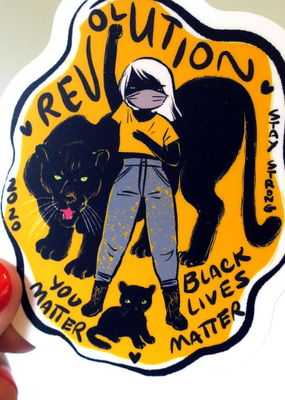 Stasia Burrington Sticker Revolution