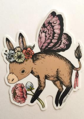 Marika Paz Sticker Donkey Fairy