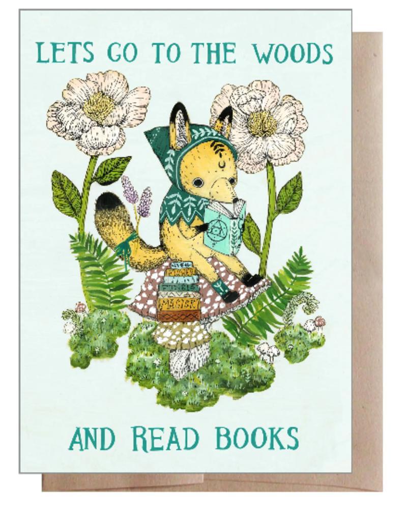 Marika Paz Card Woods and Books