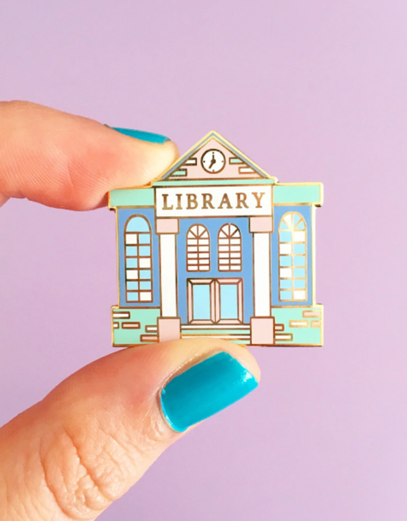 collage Enamel Pin Library