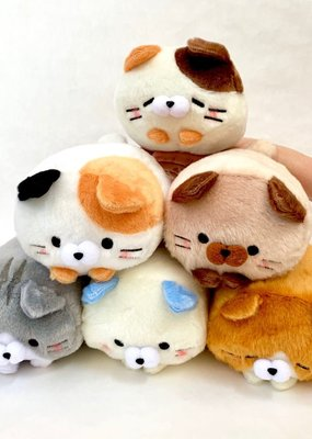 Fluffy Cat Squishy Plush