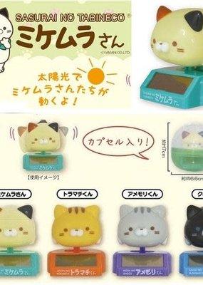 Cat Solar Toy Capsule