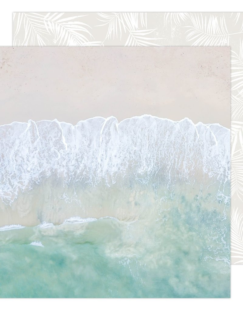 Heidi Swapp 12 x 12 Decorative Paper Salty Air