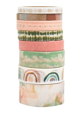 Heidi Swapp 8 Piece Washi Set Carefree