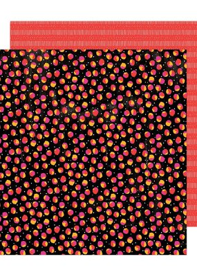 Amy Tangerine 12 x 12 Decorative Paper Scattered Spots