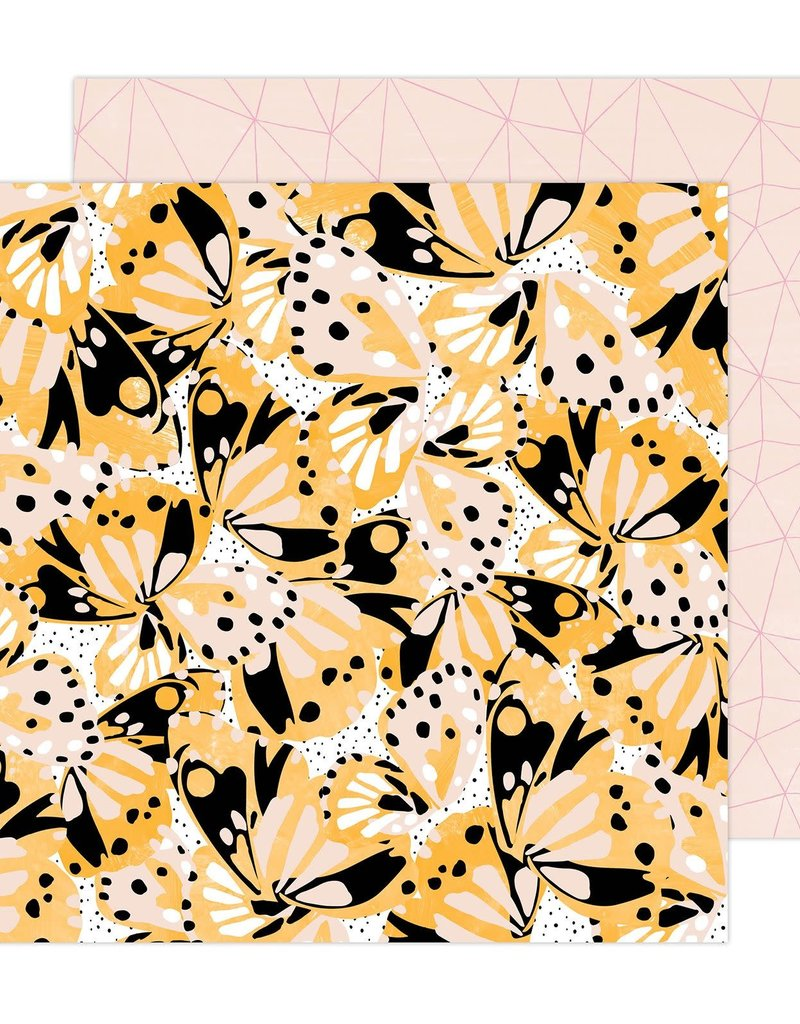 Amy Tangerine 12 x 12 Decorative Paper Flutter