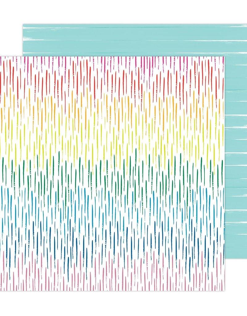 Amy Tangerine 12 x 12 Decorative Paper April Showers