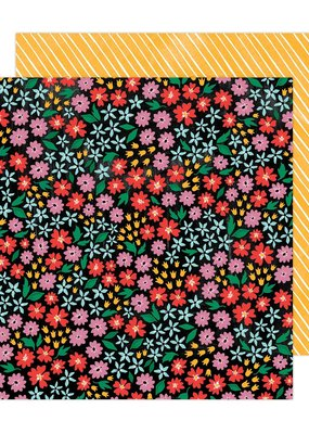 Amy Tangerine 12 x 12 Decorative Paper Full Bloom