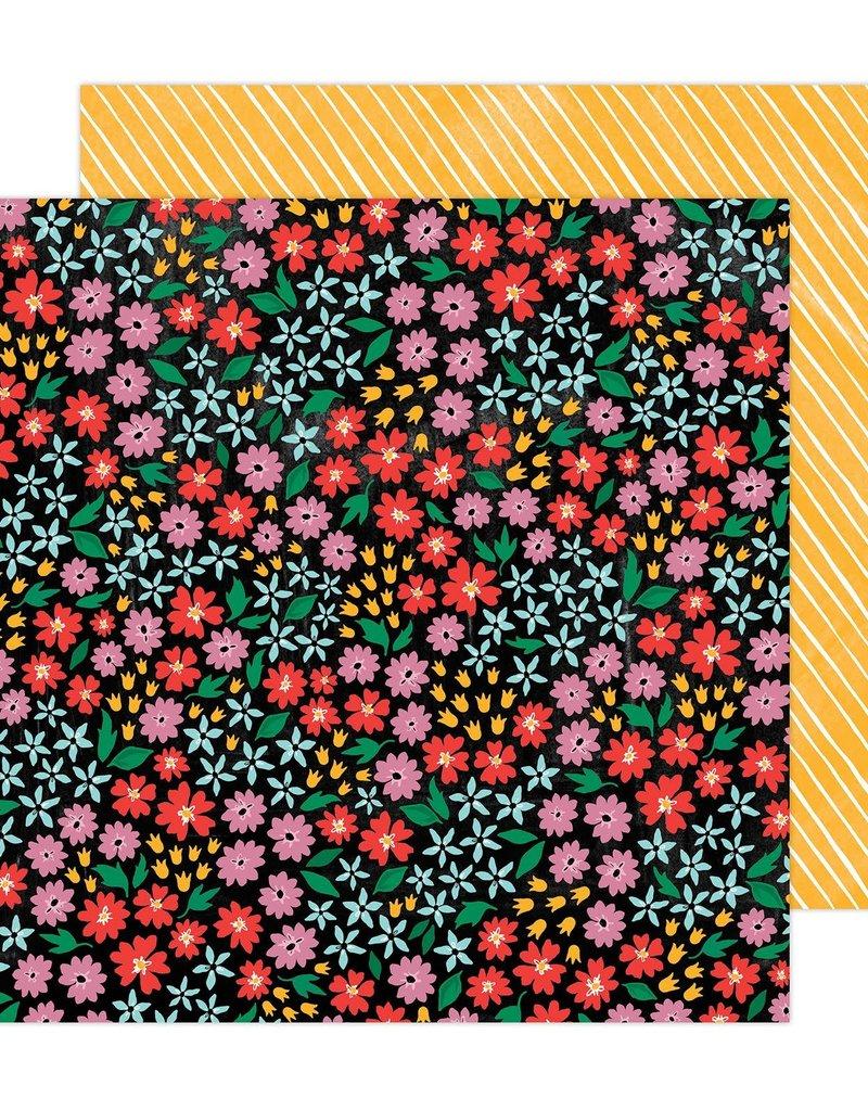 Amy Tangerine 12 x 12 Decorative Paper Full Bloom