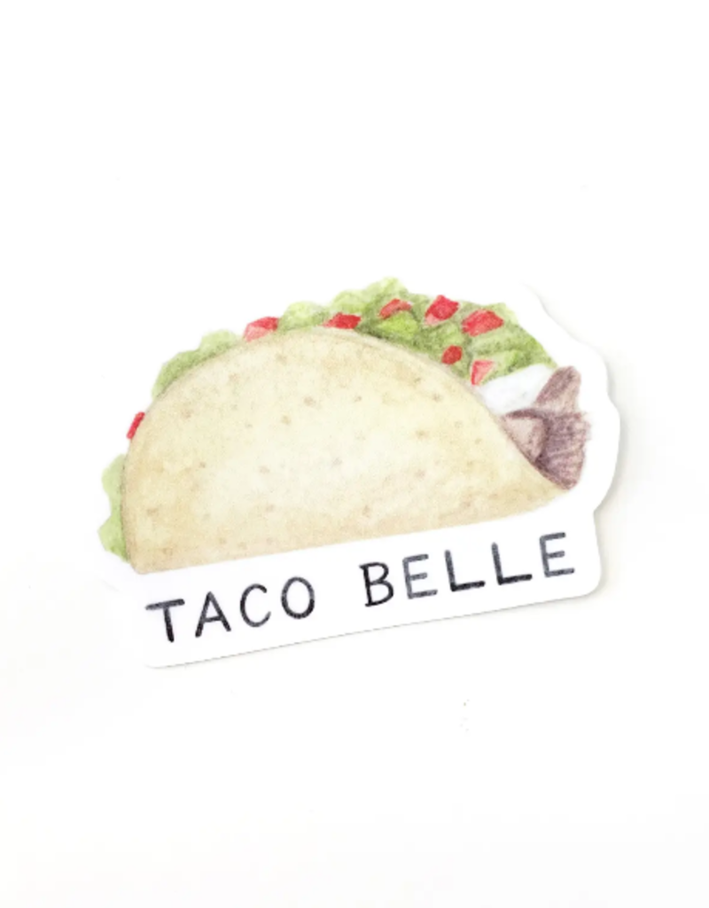Amy Zhang Sticker Taco Belle
