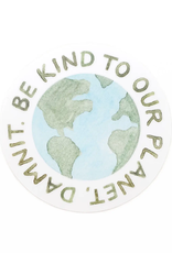 Amy Zhang Sticker Be Kind To Our Planet
