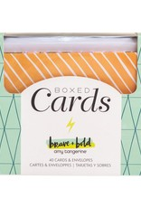 Amy Tangerine Boxed Cards Brave & Bold