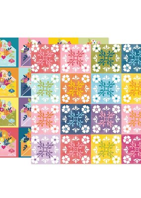 American Crafts 12 x 12 Decorative Paper Wonders # 22