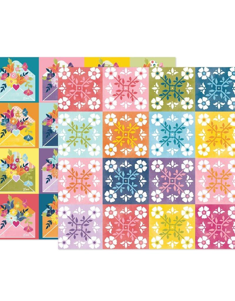 Paige Evans 12 x 12 Decorative Paper Wonders # 22