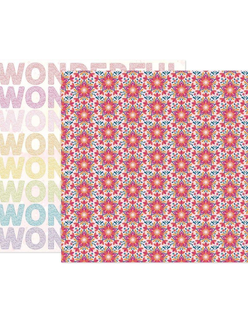 Paige Evans 12 x 12 Decorative Paper Wonders # 19