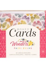 Paige Evans Boxed Cards Wonders