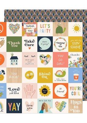 Jen Hadfield 12 x 12 Decorative Paper Hello You