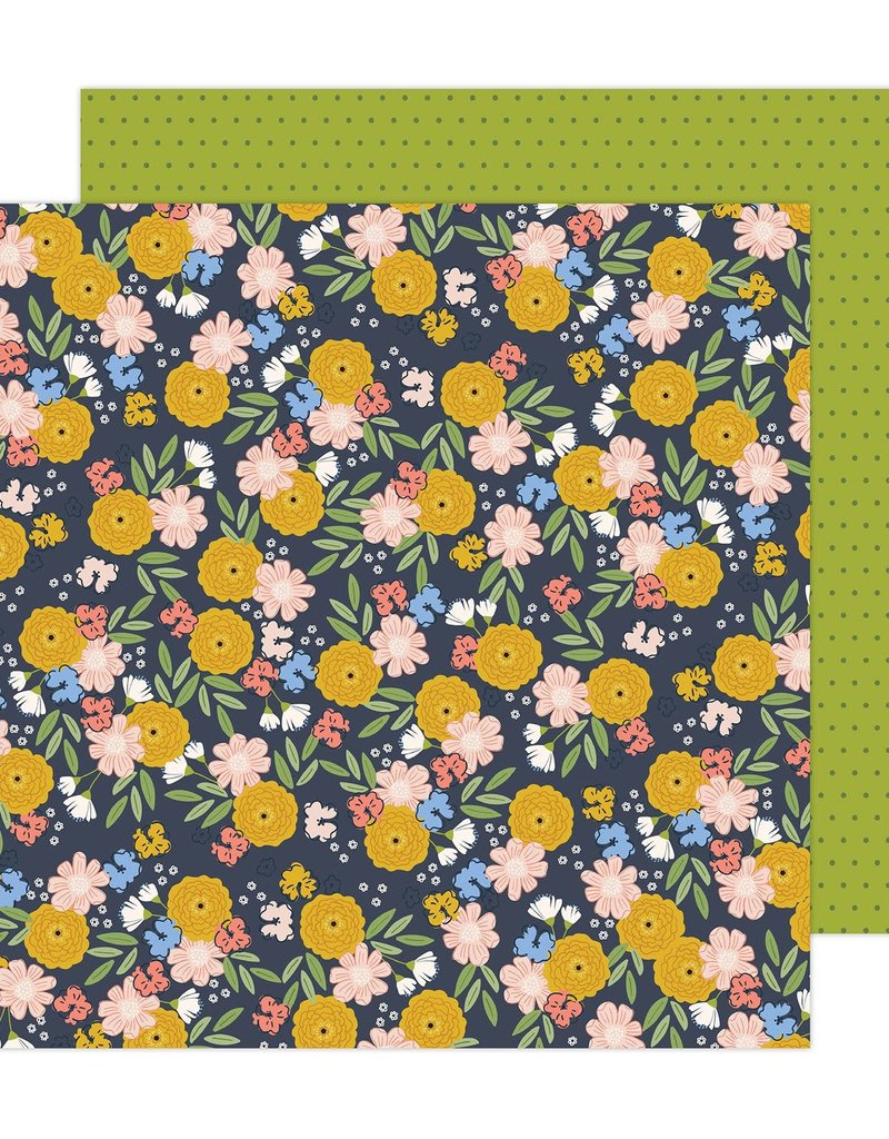 Jen Hadfield 12 x 12 Decorative Paper Friendship Floral